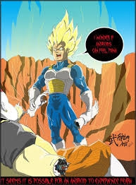 goku vs android 19 vegeta vs android 19 generated fear by fightingarts on deviantart