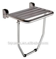 Folding Shower Seat Stainless Steel Folding Wall Mount Shower Seat Buy Shower Seat