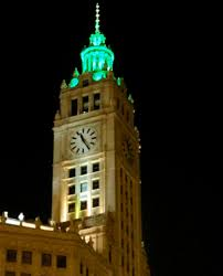 empire state building lights tonight chicago green lights wendycity