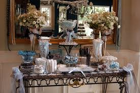 decorating buffet table wedding buffet ideas using flowers for buffet table decorations