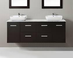 63 inch floating double vessel vanity cabinet
