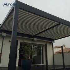 pergola covers rain pergola aluminum with mobile slats modular