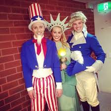 Halloween Costumes George Uncle Sam Lady Liberty George Washington Halloween