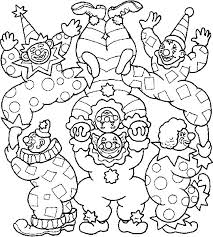 Circus Coloring Pages Clowns Coloringstar Circus Coloring Page