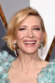 9 cutest cate blanchett hairstyles blonde hair color short