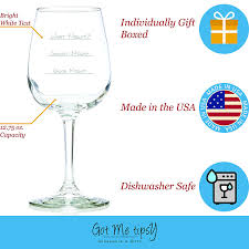 amazon com what night funny wine glass 13 oz best birthday