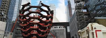 heatherwick studio s vessel structure takes shape in new york