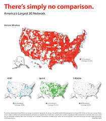Usa Cell Phone Coverage Map by Thanks