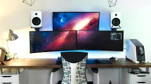 u shaped gaming desk desk 56 pc gaming corner desk u shaped computer setup desk setup