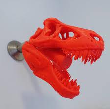 today i 3d printed a t rex shower head pics