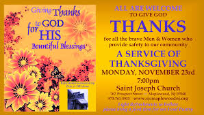 st joe s hosts service of thanksgiving for emt