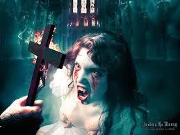avelina de moray dark horror vampires halloween evil cross women
