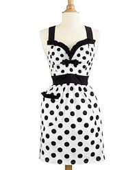 martha stewart kitchen collection martha stewart collection polka dot apron created for macy s
