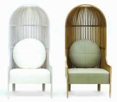 Single Seat Lounge Chairs Design Ideas High Back Chair Design Offering Bird Cage Like Furniture For