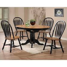 Light Oak Dining Room Sets Impressive Black Dining Room Set With The Deakin Extending 2
