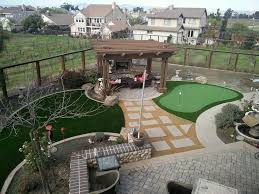 Done Right Landscaping by Turf Putting Green And Gold Fines Done Right Forever Greens