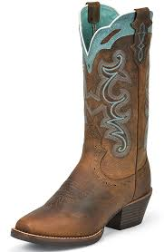 womens justin boots size 11 womens silver collection cowboy boots rugged buffalo