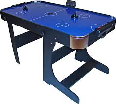 used coin operated air hockey table gamesson blue air hockey table 5ft liberty games