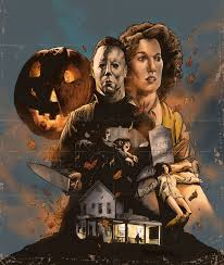 the horrors of halloween halloween 1978 character poster art by