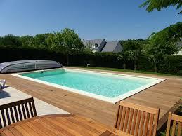 plage de piscine bardage bois extérieur aménagement extérieur bois terrasse en