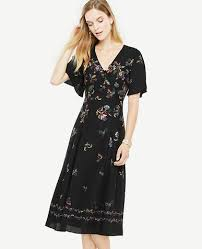 women u0027s midi dresses mid length in high style ann taylor