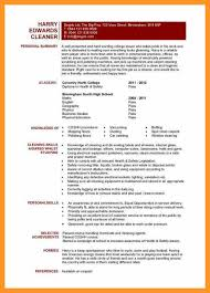 commercial cleaning resume exles bio letter format