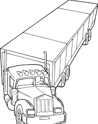 truck coloring pages getcoloringpages com coloring home