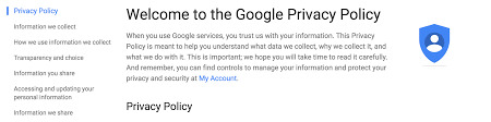 privacy policy google facebook twitter privacy policies ranked by readability