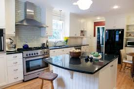 interior decoration kitchen design with black uba cuba granite