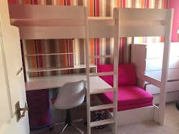 Bunk Bed With Sofa Underneath Single Bunk Bed With Desk And Sofa Bed Chair Underneath Comes