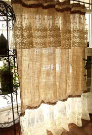 Lace Shower Curtains Sheer Best 25 Shabby Chic Curtains Ideas On Pinterest Curtain Tie