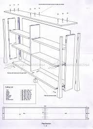 Bookcase Plan Simple Bookcase Plans U2022 Woodarchivist
