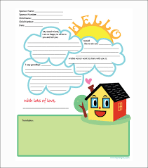 free letters templates 10 letter templates for kids free sample example format