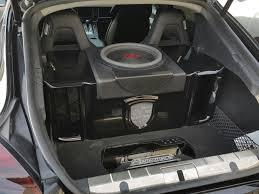 porsche panamera trunk a 2011 porsche panamera i did full dd audio setup exluding the