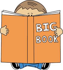 big book boy reading a big book clip boy reading a big book image