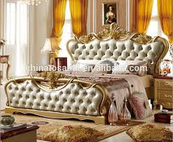 Royal Furniture Classic Bed Set Home Furniture Italian Antique - Bedroom furniture china