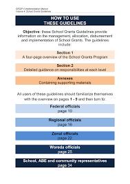 geqip ii program implementation manual grants guidelines