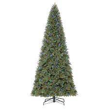 shop living 12 ft pre lit douglas fir artificial