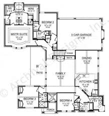 First Floor House Plan Merriman Empty Nester House Plan Luxury House Plans