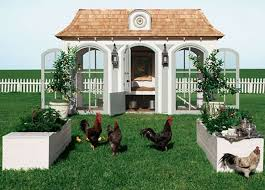 11 snazzy chicken coops for backyard poultry farmers mental floss