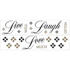 roommates peel stick live laugh love wall stickers lowe 039 s roommates peel stick live laugh love wall stickers lowe 039 s canada