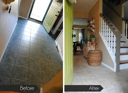 Can You Lay Tile Over Laminate Flooring Groutable Luxury Vinyl Tile Floor An Update Jenna Burger