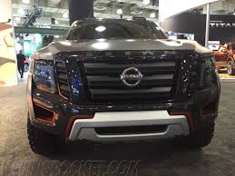 nissan titan off road bumper off road concept vehicles from the ny auto show nissan titan