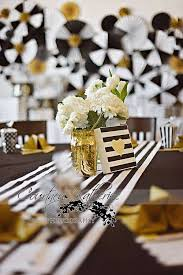 white and gold baby shower black white gold baby shower party ideas gold baby showers