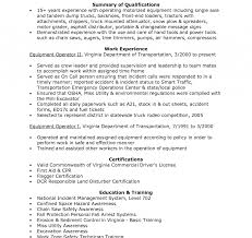 exle of a resume cover letter heavy equipment operator resume cover letter sles objective