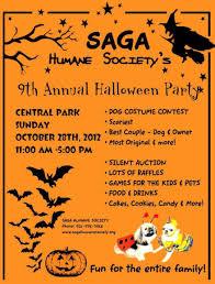 saga halloween party u0026 fundraiser saga humane society
