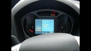 mk 4 tdci mondeo oil u0026 air filter change inc reset warning light