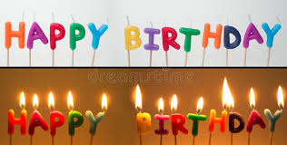 happy birthday candles happy birthday candles royalty free stock photography image