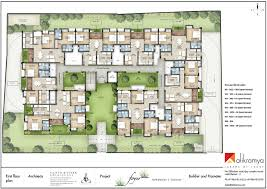 Floor Plan O2 Boutique 3bhk And 2bkh Apartments Sales In Keelkattalai
