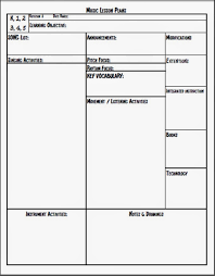 Free Lesson Plan Templates For Elementary Teachers melodysoup lesson plan template this is the best